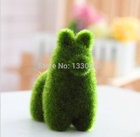 Wholesale 50 Hot sale animal grass small cute animal design decorations artificial animals grass land House decoration