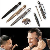 aviation desktop - Tactical Pen Self Defense Cooyoo Tool Aviation Aluminum Antiskid Hot sale