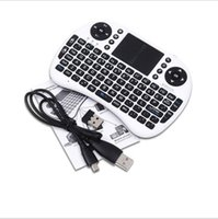 multi game - Rii Air Mouse Wireless Multi touch Keyboard Mini I8 GHz Touchpad Remote Control For MX CS918 MXIII M8 TV BOX Game Play Tablet Mini PC
