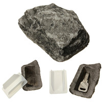 Wholesale Outdoor Spare House Safe Hidden Hide Security Rock Stone Case Box for Key Hide