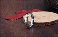 Venta caliente anillo de plata de moda 925 anillo de la vendimia de la plata esterlina de plata pura con franja de oro 4 tamaños envío gratuito