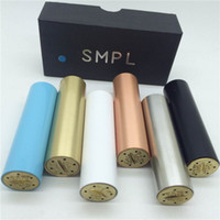 brass fitting - SMPL Mod Full Machanical Mods Red Copper SS Black Brass white SMPL Mod clone fit Battey rda rba atomizer vs manhattan apollo praxis m6