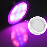 Wholesale 2016 New LED W USB LED Grow Light Red And Blue Full Spectrum Hydroponics LED Lamps For Plants And Fish Growth