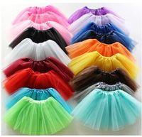 layer cake - 2015 girl candy color kids ballet tutu skirt layers ball gown Cake skirts tutu pettiskirt Net yarn sequins dancing top skirts Wolesale