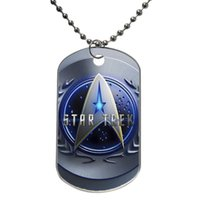 Wholesale Star Trek Customized Colorful Design Dog Tag Necklace Aluminum Tag for Animal Pets Tag