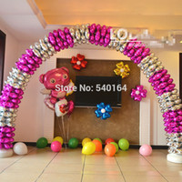 balloon arch - Hot Sale Arch Decoration Foil Balloon cm Four Heart Spheres For Promotion Activity Arch Decor