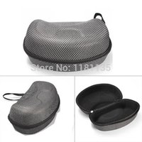 motorcycle hard bags - Mesh Hard Protector Bag Case for Winter Sports Ski Motorcycle Snowmobile Goggles Black With Silver Colour