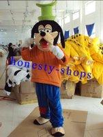 advertising high school - High quality Goofy Mascot Costume Adult cartoon costumes advertising mascot animal costume school mascot fancy dress costumes