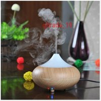 Wholesale 50 TOPB5284 Ultrasonic Air Humidifier LED Light Aroma Oil Diffuser Ionizer Generator Aromatherapy Office Purifier Mist Maker Home Diffuser