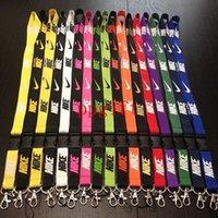 clothing chain - hot sports Fashion Popular Sports Clothes Brand neck lanyard Phone Lanyard key chains Neck Strap
