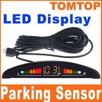 Wholesale Car Reversing Car parking sensor LED Display Parking Reverse Backup Radar w Sensors Car Parking System K371