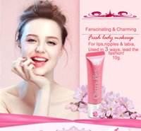 baby pink lipgloss - Natural Sakura Cherry Pink color lips cream baby lip gloss sexy hydrating nutrient moisturizer nutritious bring lipgloss