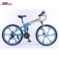 folding bike - Road folding bikes speed inch mountain bike bicycle downhill Aluminum xirui X6 road bike red for Mens unisex children