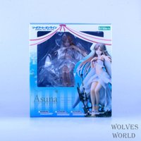 bear collectibles - Japan Anime Figure Kotobukiya Sword Art Online Asuna Fairy cm PVC Sexy Figure Collectibles Brinquedos Model Doll