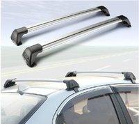 alloy roof - Car Aeneral Aluminum Alloy Roof Rack quieten Rod Roof Bar Luggage Rack Travel Frame