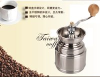Wholesale Newest hot sale coffee grinder stainless steel coconut mill coffee bean grinder