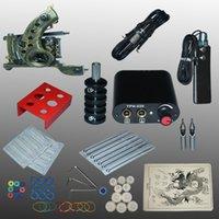 Wholesale New Arrival set Tattoo Kit Power Supply Gun Complete Set Equipment Machine kit
