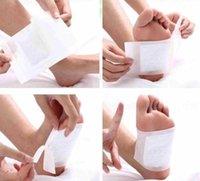 Wholesale 2Pc Women Men Foot Care Pad Effective Detox Patch Detoxify Toxins Adhesive Fit
