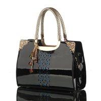 candy handbags - new fashion the already set women handbag candy color patent leather women bag high end women messenger bags f23