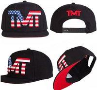Wholesale Cheap GORRA PLANA SNAPBACK TMT ALL STAR THE USA NEGRA MONEY TEAM MODA MAYWEATHER Adjustable Baseball CAP HAT Fashion ball CAPS HATS
