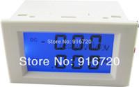 Оптово-DC 0-199.9V / 0-1.999A LCD Цифровой вольтметр амперметр вольтметр усилителя панели монитора