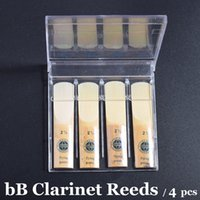 Wholesale Bb Clarinet Reeds Strengh Professional Musical Instrument Accessories Traditional Reed B Flat