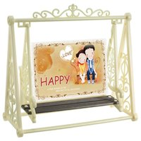 baby swing frame - FBH031221 Swing chair photo frame double cartoon cute baby like boxes