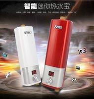 Instant water heater Avis-Chauffe-eau électrique Douche électrique 6000W Hot Rod Température instantanée Chauffe-eau