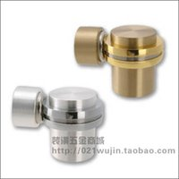 Wholesale Project Hardware Monopoly GMT quality copper flat head door absorption MX10 US15 Silver Gold