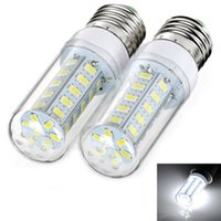 Wholesale High Power E27 SMD W W LED Lamp Corn Light Bulb Spotlight AC V V Cold warm white