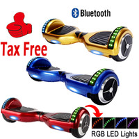 led high power - LED RGB Scooter Bluetooth Smart Balance Wheel Two Wheel Unicycle High Power Battery Self Balancing Electric Scooters with key Remote Control
