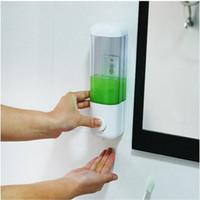 Wholesale Creative Bathroom Sucker Wall Mounted Mini Soap Liquid Dispenser Single Head Container Emulsion Dispenser Hand Sanitizer JJ244