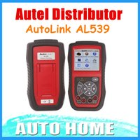 Wholesale Autel Distributor Original Autel AutoLink AL539 OBDII CAN SCAN TOOL Internet Update Years Warranty