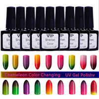 gel nail polish - 18 Colors Styles ml Temperature Glue Nails Chameleon Color Changing UV Gel Polish Phototherapy qq Barbie Chloden Nail glue Assorted Colors
