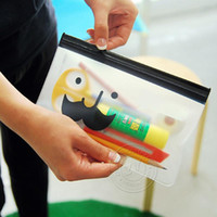 bag moustache - Pencil Case Multipurpose Moustache Transparent Stationery Bag Storage Bag New Hot Sell Creative Fashion Shipping From China