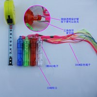 Wholesale 2016 Colorful LED light whistle whistle flash card loaded transparent evening concert cheering props KTV bars