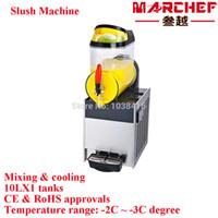 beverage cooler dispenser - commercial mixing and cooling slush machine juice dispenser granita machine beverage dispenser