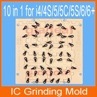 baseband chip - 10 in IC Chip Grinding Mold CNC Engraving Router Repair Machine for iPhone S C S Plus Mainboard HD Nand Flash Baseband ID iCloud Un