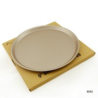 Wholesale Low quot quot H1 cm High Quality Chefmade Non stick steel professional Pizza Pans Kitchen Bakeware Tray