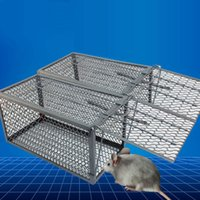 Wholesale Rodent Animal Mouse Humane Live Trap Hamster Cage Mice Rat Control Catch Bait
