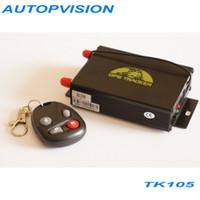 antenna car satellite - Vehicle satellite positioning system tk105 car bus gps tracker camera automatically fuel alarm GSM GPRS GPS