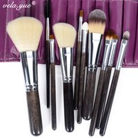 Wholesale Professional Makeup Brushes Set Soft Synthetic Hair Makeup Tools Kit with Case