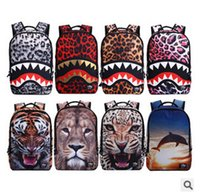Wholesale multifunctional Fashion Backpacks Animal Printed D Backpacks school bags for students outdoor sports travel laptop backpack new style