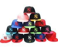 baseball christmas gifts - New NY Baseball Caps Snapbacks Hats Adjustable Cap Popular Hiphop Hat Men Women Ball Caps Christmas Gifts Snapback Sport cap Factory Price