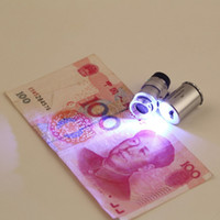Wholesale Fresh Promotion New Arrival X Zoom LED Microscope Micro Lens New Silver