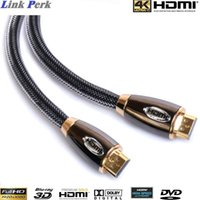 1080p led hdtv - M ft HDMI v1 A PREMIUM GOLD PLATED CABLE HDTV P D K ULTRA HD METRE LEAD