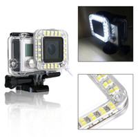 Wholesale Gopro Accessories USB Lens Ring Camera Shooting LED Fill Light for GoPro Hero OS246 Standard Waterproof Case Shooting