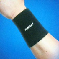 assured support - set Assured Wrist Support Sport GYM Elastic Black