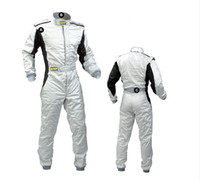 Wholesale 2016 new car racing suit coverall clothing polyester layers fashion clothes colors size XS XL fit men and women not fire