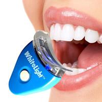 Wholesale Daily Deal Hot pc White Teeth Tool Whitening System Tooth Whitener Dental Care LED Whiten Kit